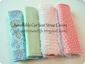 Car Seat Cover Straps