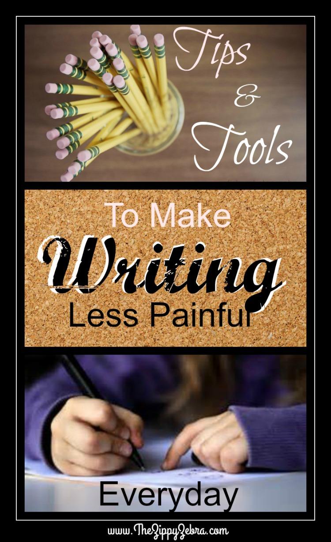 The Zippy Zebra Spoonsavers for Writing