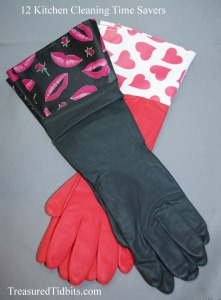 Elbow Gloves for 12 Kitchen Cleaning Savers