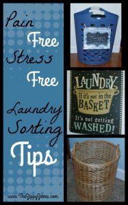 Laundry Soring Tips Collage