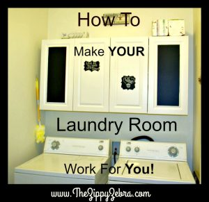 Make Your Laundry Room Work For You FB