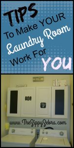 Tips to Make Your Laundry Room Work For You Pin