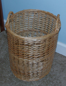 Use a light weight hamper you can manage