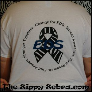 Ask About EDS Shirt back