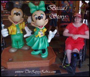 Becca's Story Disneyland