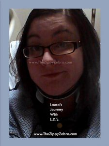 Laura's Journey With EDS Neck Brace Photo