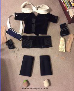 Monica's Braces for EDS Awareness Photo