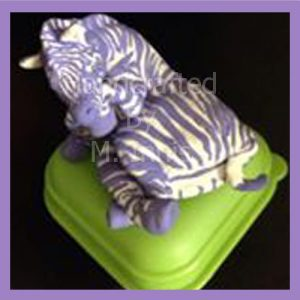 M's purple zebra Handcrafted Journey to E.D.S. Diagnosis