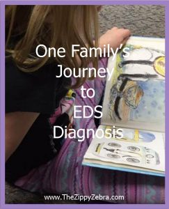 One Family's Journey To E.D.S. Diagnosis Girl