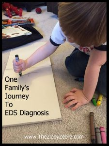 One Family's Journey To E.D.S. Diagnosis Son