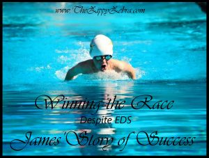 Winning The Race Despite EDS James'Story Of Success