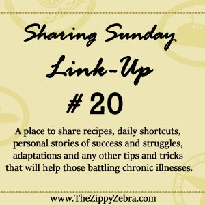 Sharing Sunday Link #20