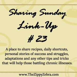 Sharing Sunday Linkup #23